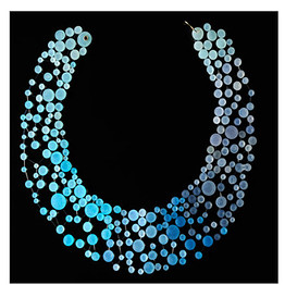 $650 medium collar resin necklace from Shannon Carney